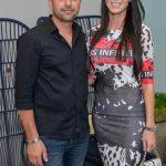 Fabiano Motim e Caroline Strapasson - Foto: Carlos Alves