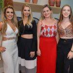 Fernanda Andreis, Maiara Regina, Catriane Machado e Maria Eduarda Machado - Foto: Carlos Alves