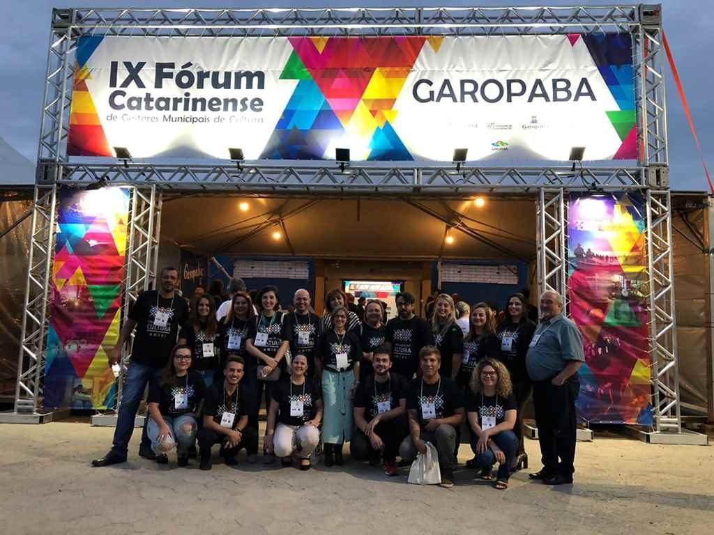 Itapema participa do IX Fórum Catarinense de Gestores Municipais de Cultura