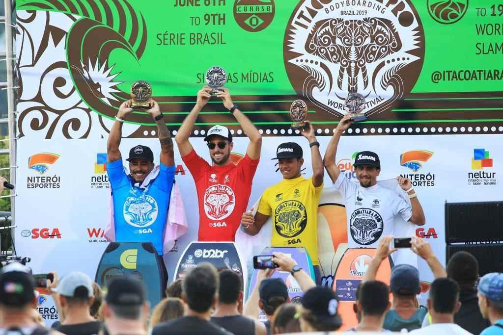 Eder Luciano conquista boa colocação na I etapa do Circuito Brasileiro de Bodyboarding