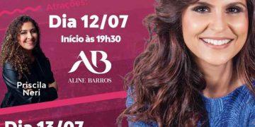 PORTO BELO - Aline Barros estará no Porto Belo Gospel Festival