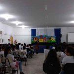 Teatro sobre o trabalho infantil acontece na Escola Francisco Vitor Alves