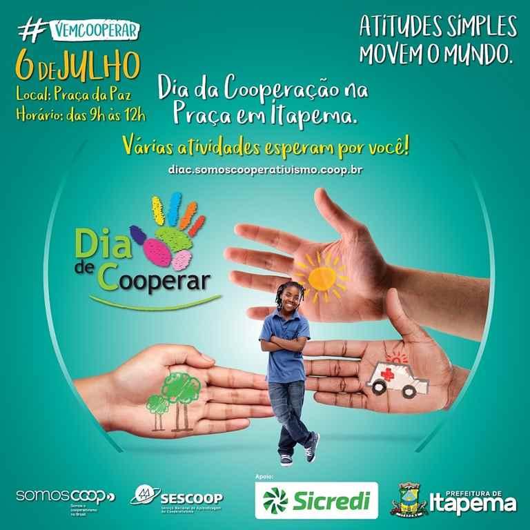 Dia da Cooperação terá diversas atividades em Itapema