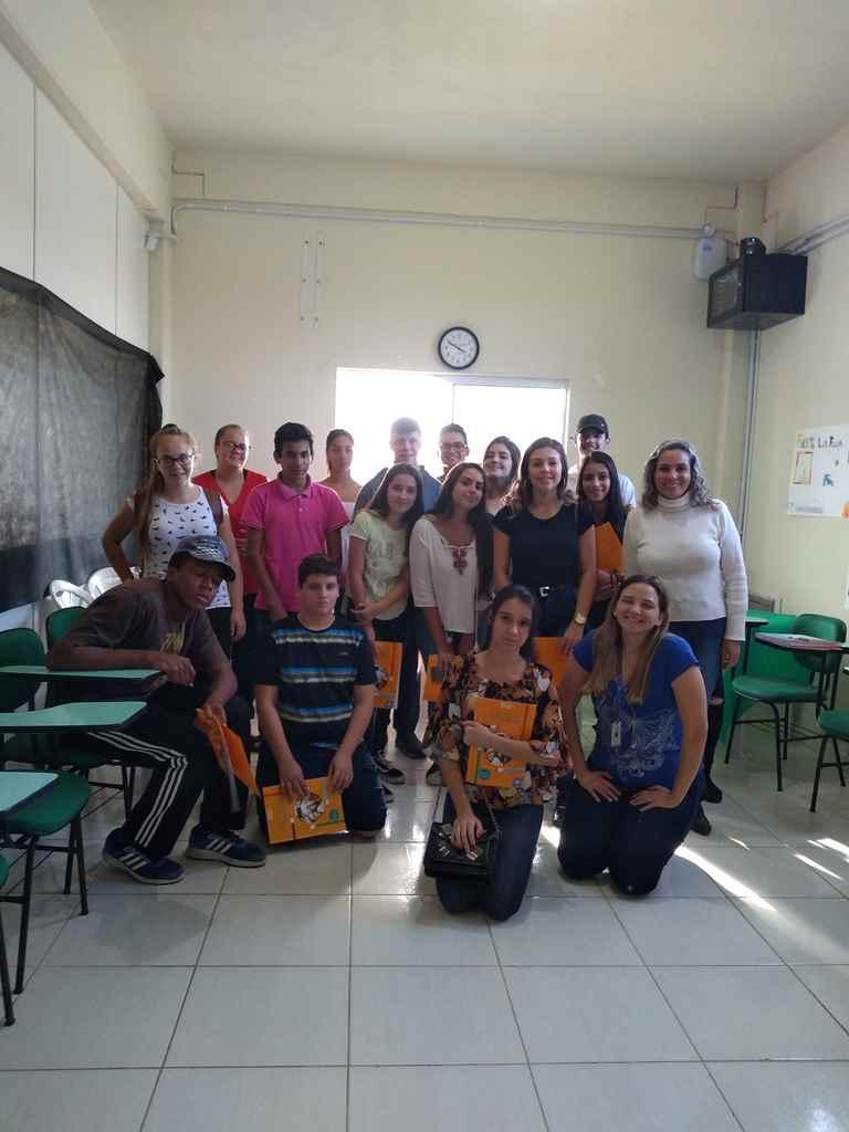 PORTO BELO - Jovens de Porto Belo participam de capacitação sobre empreendedorismo