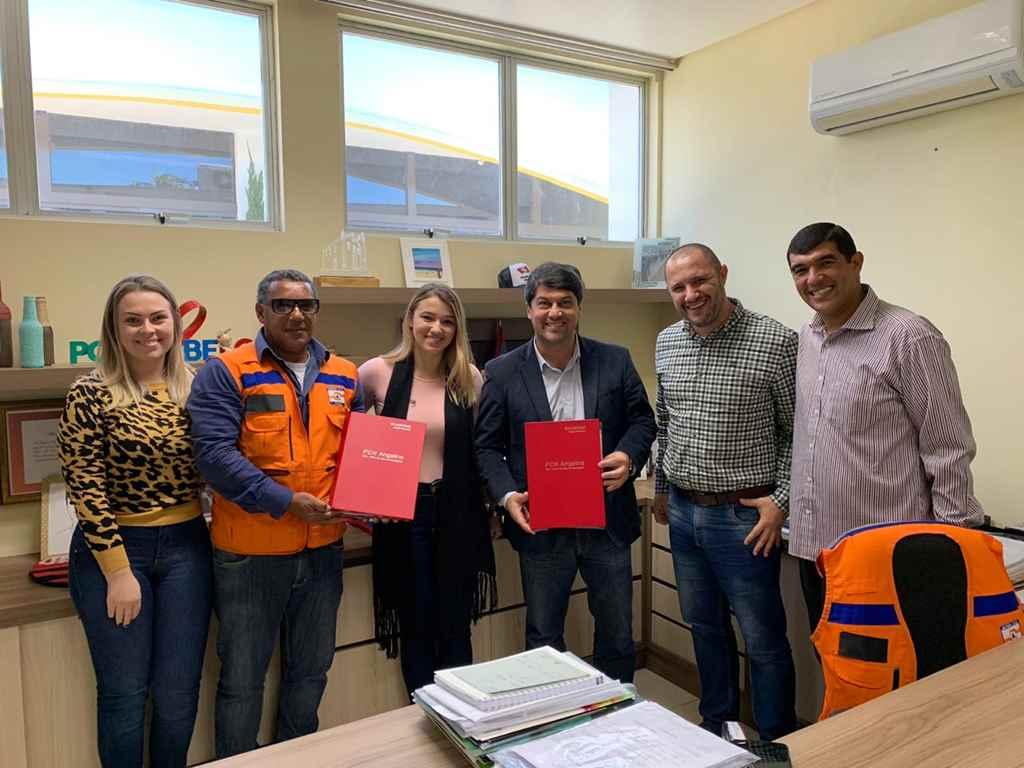 PORTO BELO - Porto Belo recebe Plano de Ação e Emergência da Barragem de Angelina
