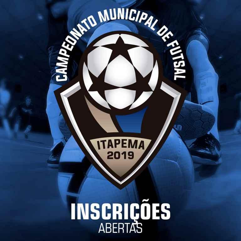 Seguem abertas as inscrições para Campeonato Municipal de Futsal