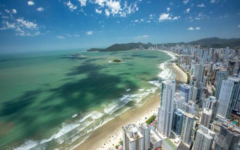 Balneário Camboriú é a quarta cidade mais cara do país, segundo a pesquisa(Foto: Silvio Pereira/Arquivo Pessoal)