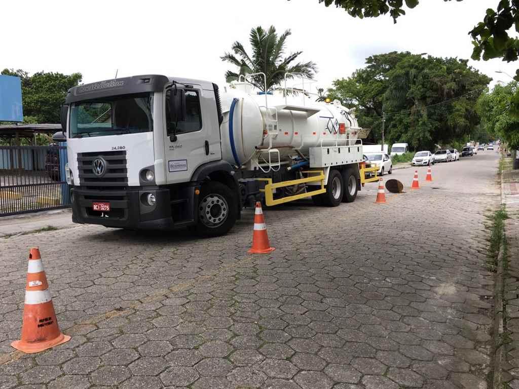 BOMBINHAS - Fiscalizações na Rede de Esgoto são intensificadas - Foto: Assessoria de Comunicação/Águas de Bombinhas