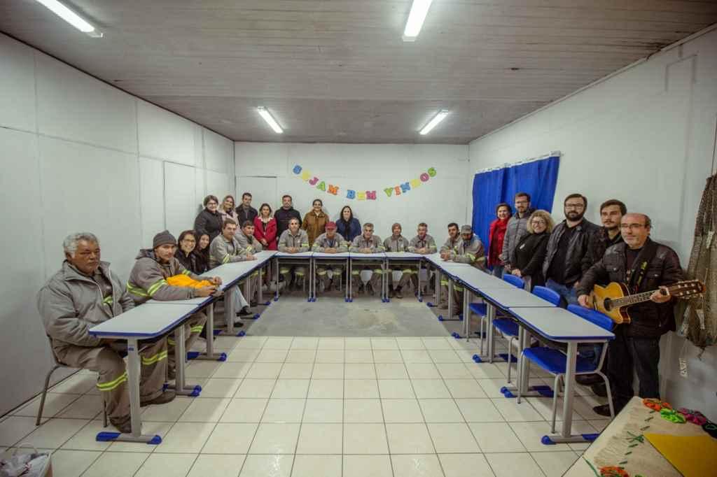 BOMBINHAS - Sala de Estudos é inaugurada na Secretaria de Obras - Foto:Bryan Kormann