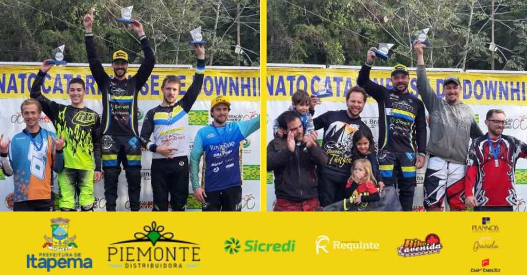 Diogo Lopes e Raphael Konig vencem na Taça Brasil de Downhill