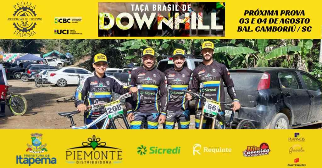 Equipe Disputa a Taça Brasil de Downhill