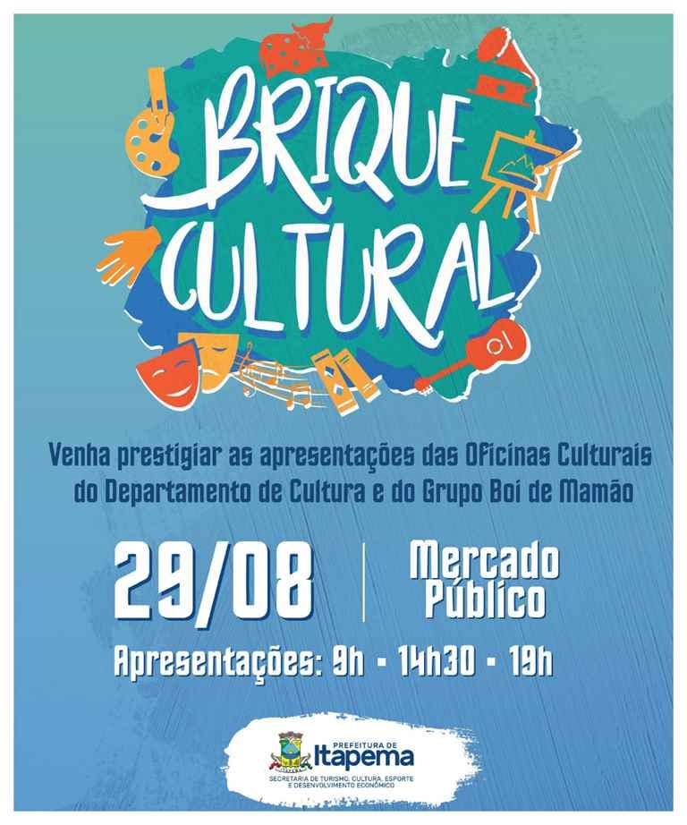 Mês do folclore será comemorado com atividade especial no Mercado Público