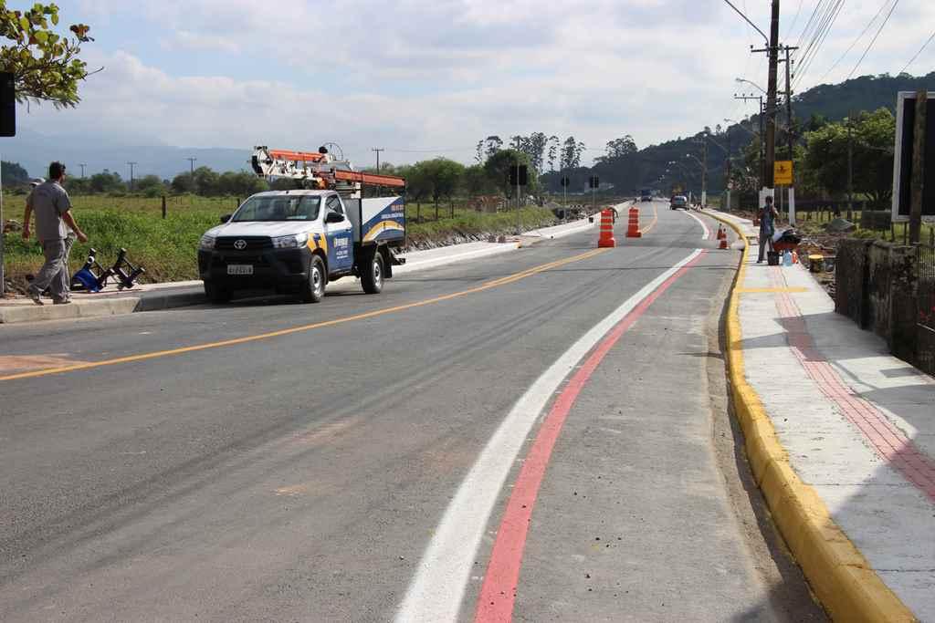 PORTO BELO - Pavimentação da Santa Luzia será entregue neste sábado à comunidade