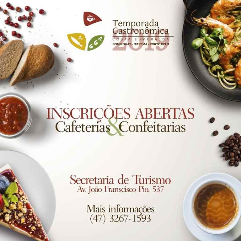 Projeto Temporada Gastronômica Costa Esmeralda está com inscrições abertas