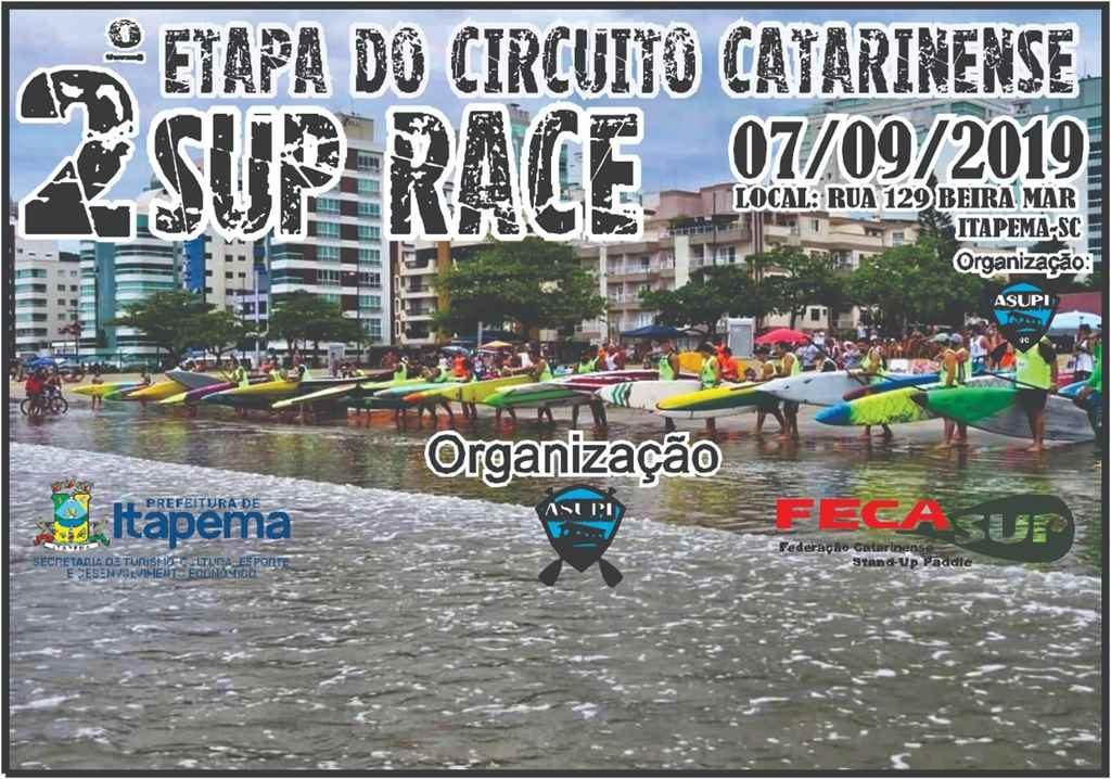2ª etapa Circuito Catarinense de Stand Up Paddle acontece neste sábado (07/09)