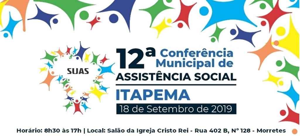Conferência Municipal de Assistência Social será nesta quarta-feira (18/09)