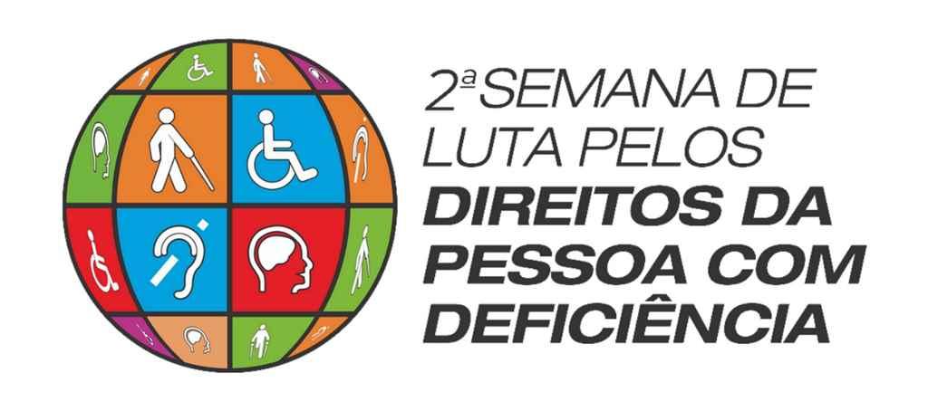 II Semana de Luta pelos Direitos da Pessoa com Deficiência inicia na segunda-feira (16/09)