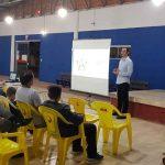 Moradores do Bairro Ilhota recebem orientações sobre o tratamento do esgoto