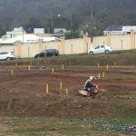 Final de semana foi com prova motociclismo em Itapema