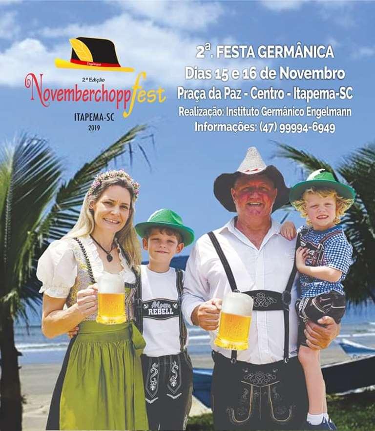 II Festa Germânica trará a cultura alemã para Itapema