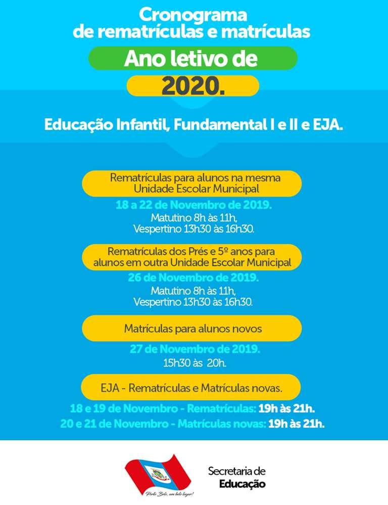 PORTO BELO - Atenção para matrículas e rematrículas na Rede Municipal de Ensino de Porto Belo