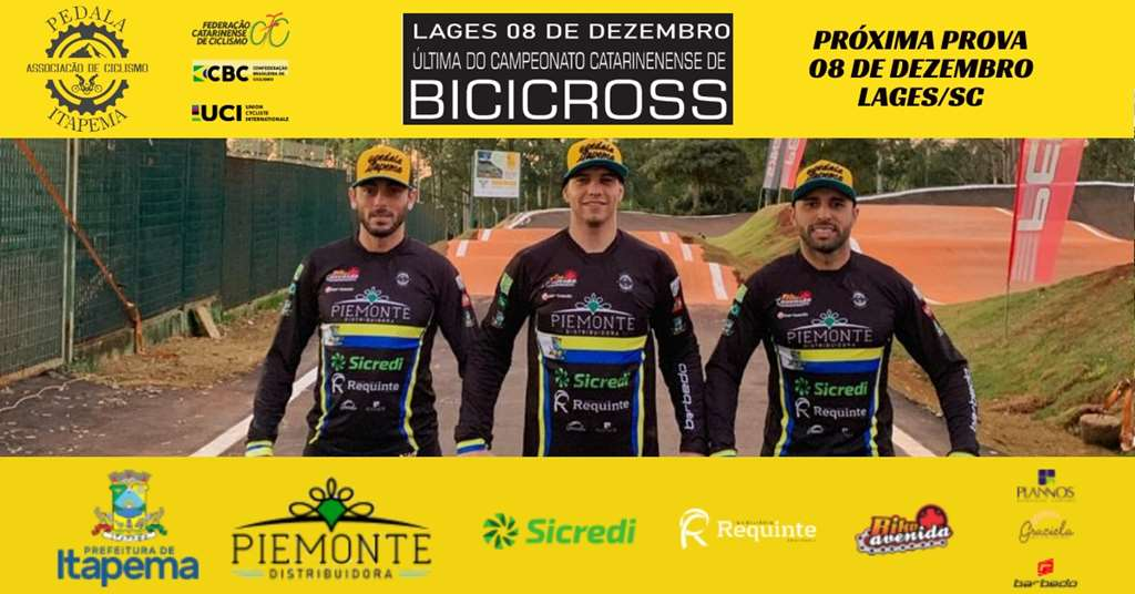 BMX Racing de Itapema disputa a Final do Ranking Catarinense