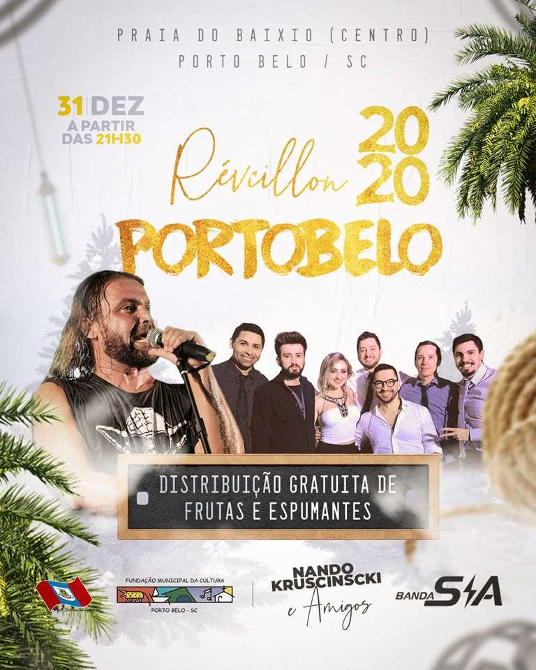 PORTO BELO - Porto Belo distribuirá frutas e espumantes gratuitamente na chegada de 2020