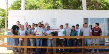 PORTO BELO - Porto Belo entrega novo espaço para conserto de embarcações aos pescadores