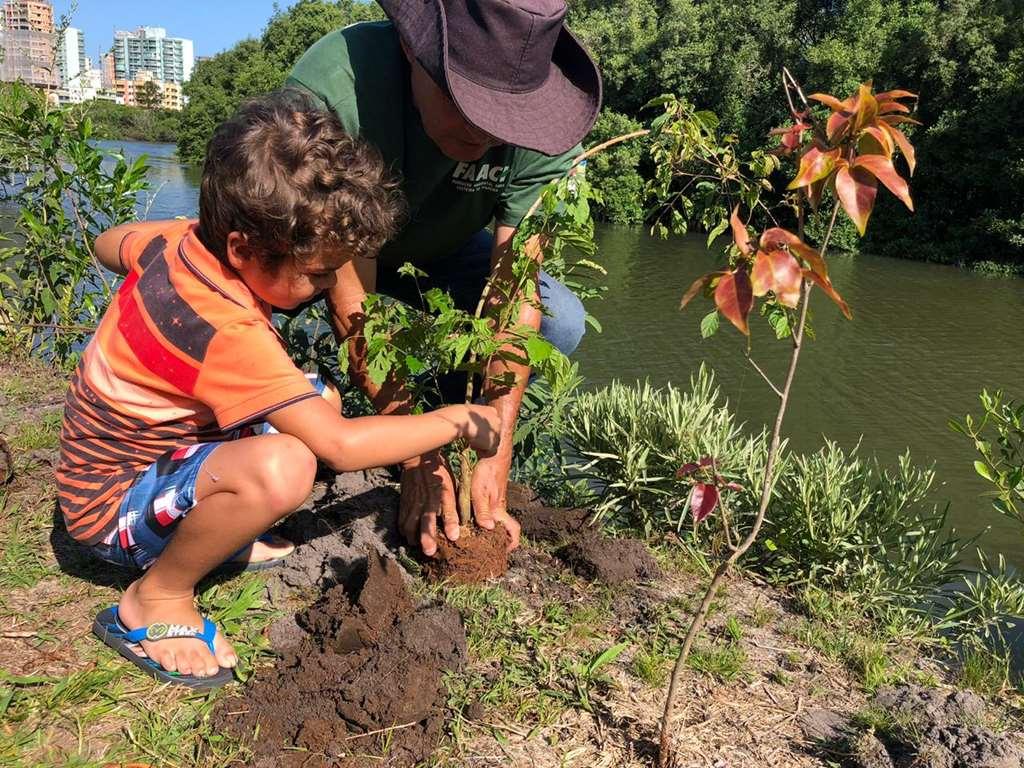 Atividade de educação ambiental movimenta Parque das Capivaras