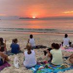 BOMBINHAS - Equipe de Saúde do Centro promove Manhã de Meditação