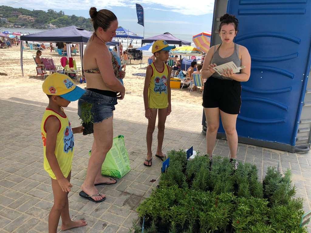 FAACI promove atividades de educação ambiental no Projeto Verão Itapema 2020