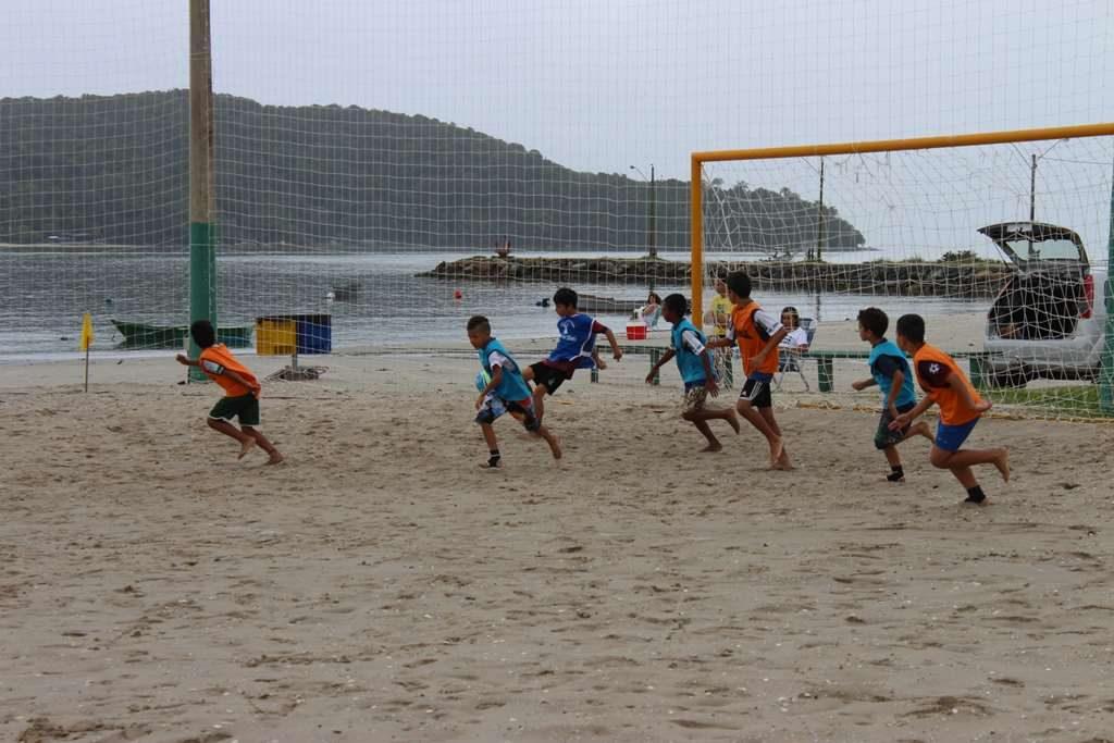 PORTO BELO – Inscrições prorrogadas para o Campeonato de Futebol de Areia Infantil de Porto Belo