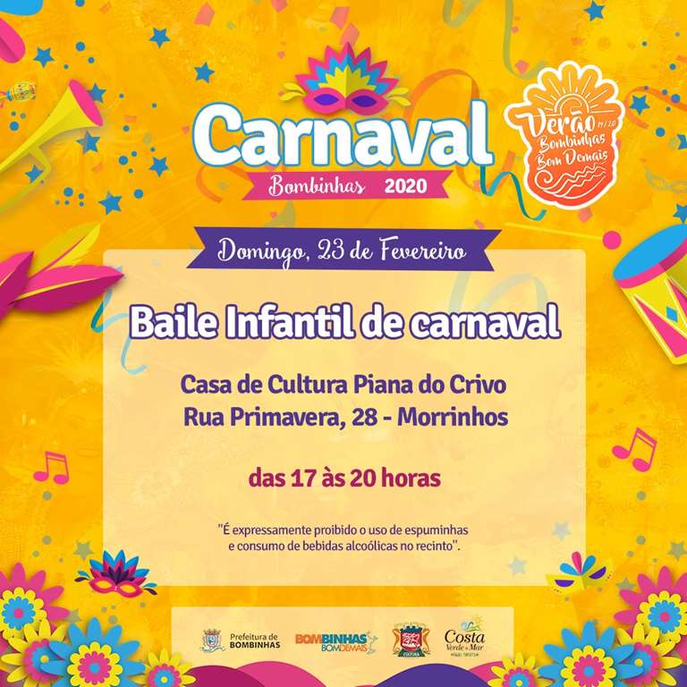BOMBINHAS - Baile de Carnaval Infantil 2020 - Foto: Maycon Rodrigues