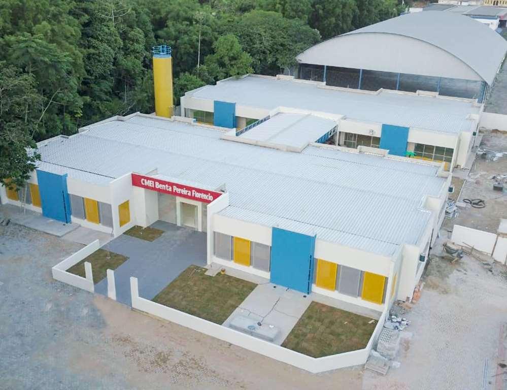 Novo CMEI no Bairro Morretes será inaugurado na próxima quarta-feira (19/02)