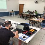 Professores participam de formação do projeto de robótica