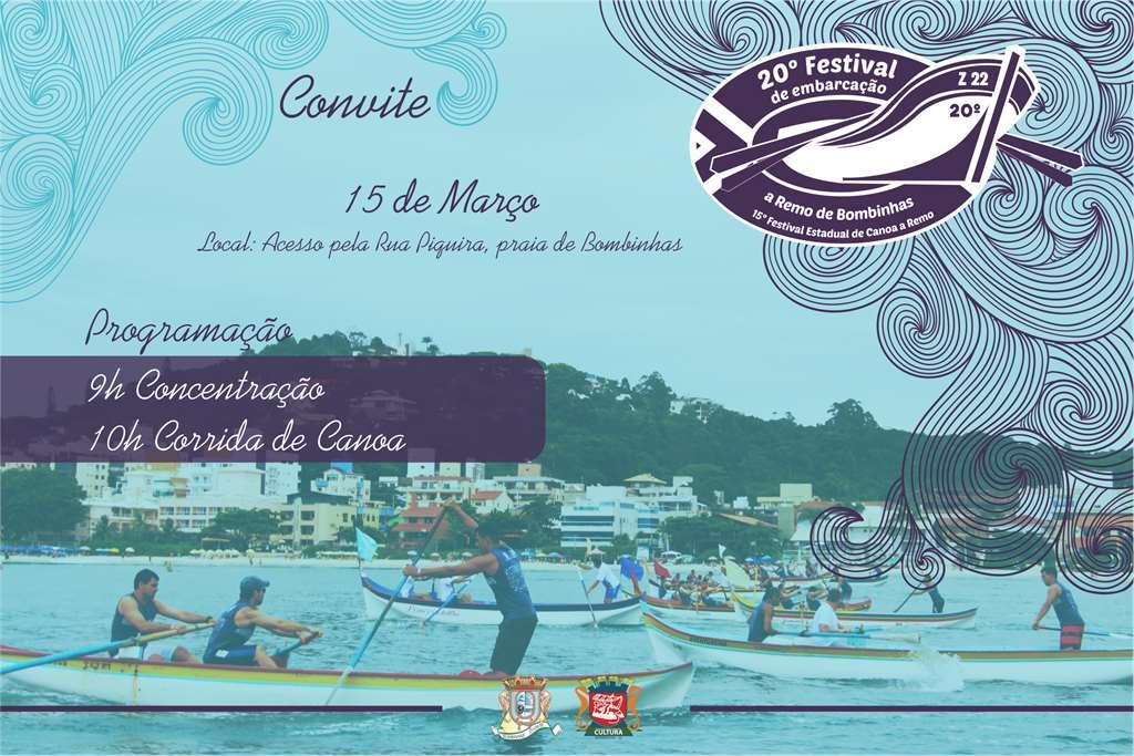BOMBINHAS - 20º Festival de Embarcação a Remo de Bombinhas