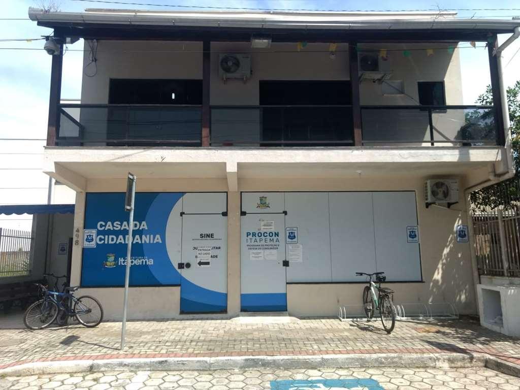 Casa da Cidadania é fechada para a sanitização