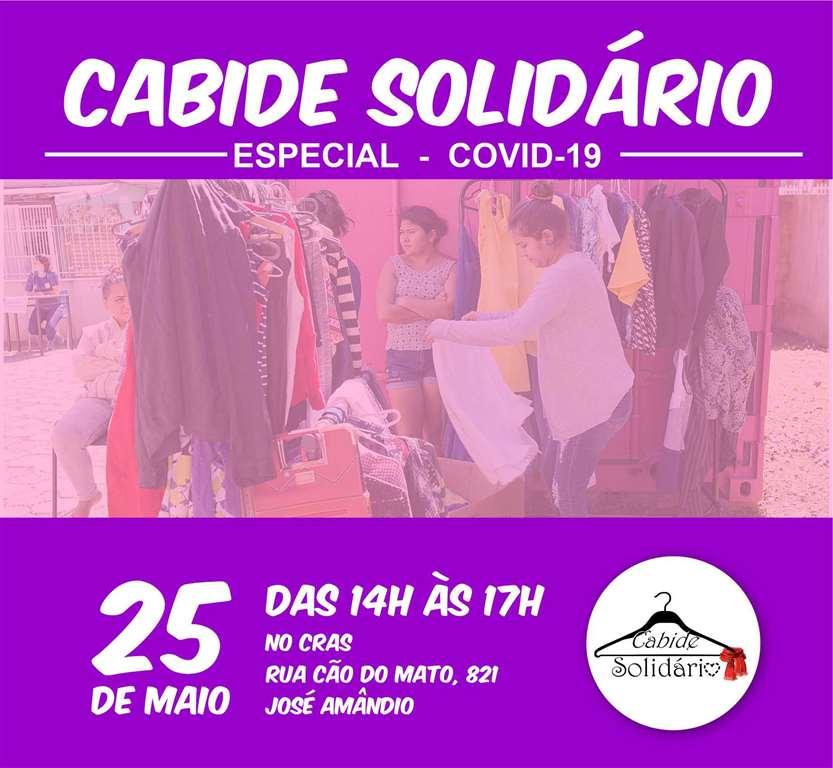 BOMBINHAS – Cabide Solidário é opção nos tempos da COVID-19