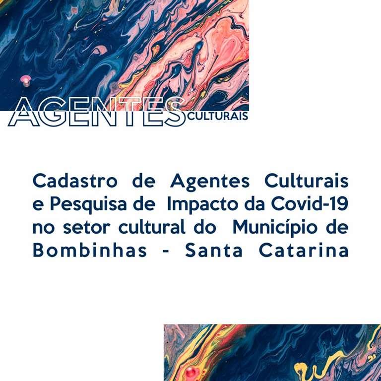 Pesquisa sobre os impactos da pandemia da Covid-19 ao setor cultural bombinense segue até dia 31 de maio. Créditos: Tabata Torres