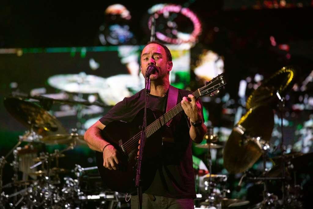 Dave Matthews Band durante show no palco Mundo no Rock in Rio 2019 — Foto: Marcelo Brandt/G1
