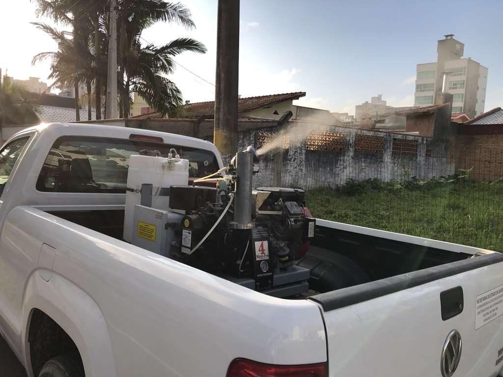 'Fumacê' contra a Dengue passa nos bairros Meia Praia, Morretes e Jardim Praiamar
