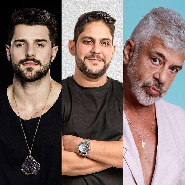 Alok, Jorge e Mateus e Lulu Santos fazem lives neste sábado (2) — Foto: Divulgação