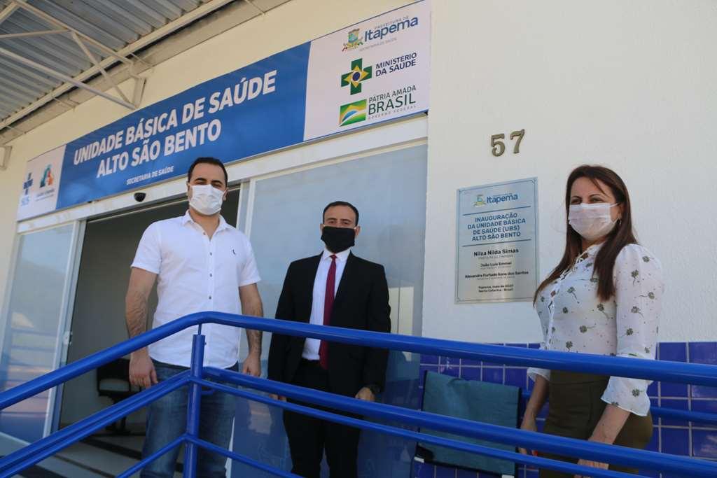 Prefeita Nilza Simas entrega Unidade Básica de Saúde (UBS) do Bairro Alto São Bento