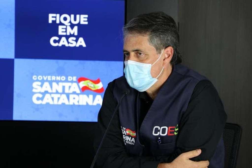 André Motta Ribeiro, secretário de Estado de Saúde em SC(Foto: Governo de SC/Divulgação)