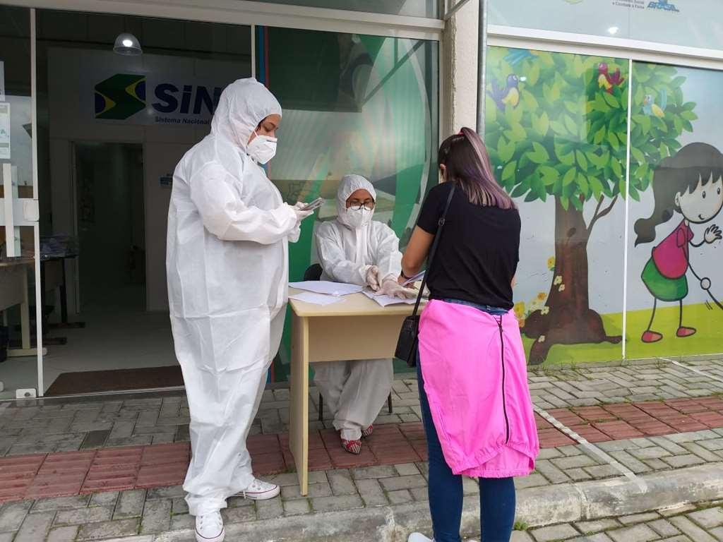PORTO BELO - SINE de Porto Belo atende apenas por agendamento