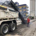 Obras seguem no bairro Morretes