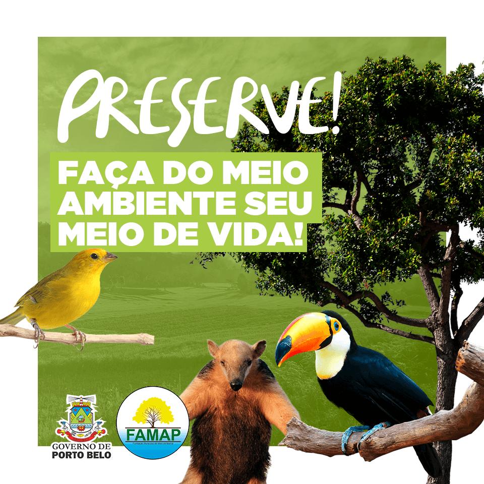 PORTO BELO - Atividades da Semana do Meio Ambiente de Porto Belo são feitas de forma online