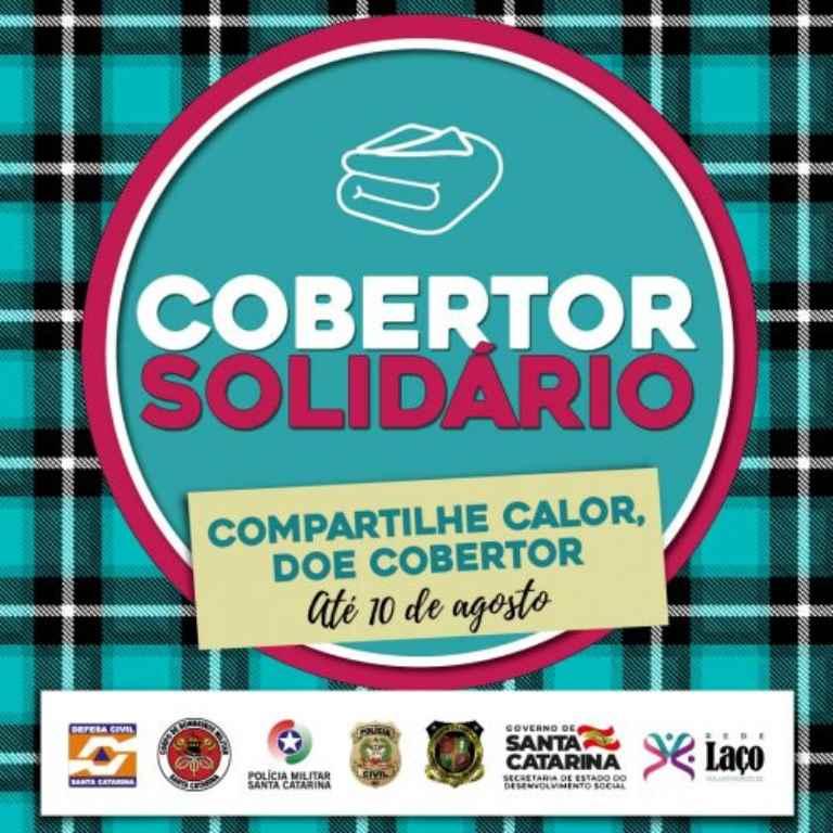 PORTO BELO – Porto belo adere à campanha Cobertor Solidário