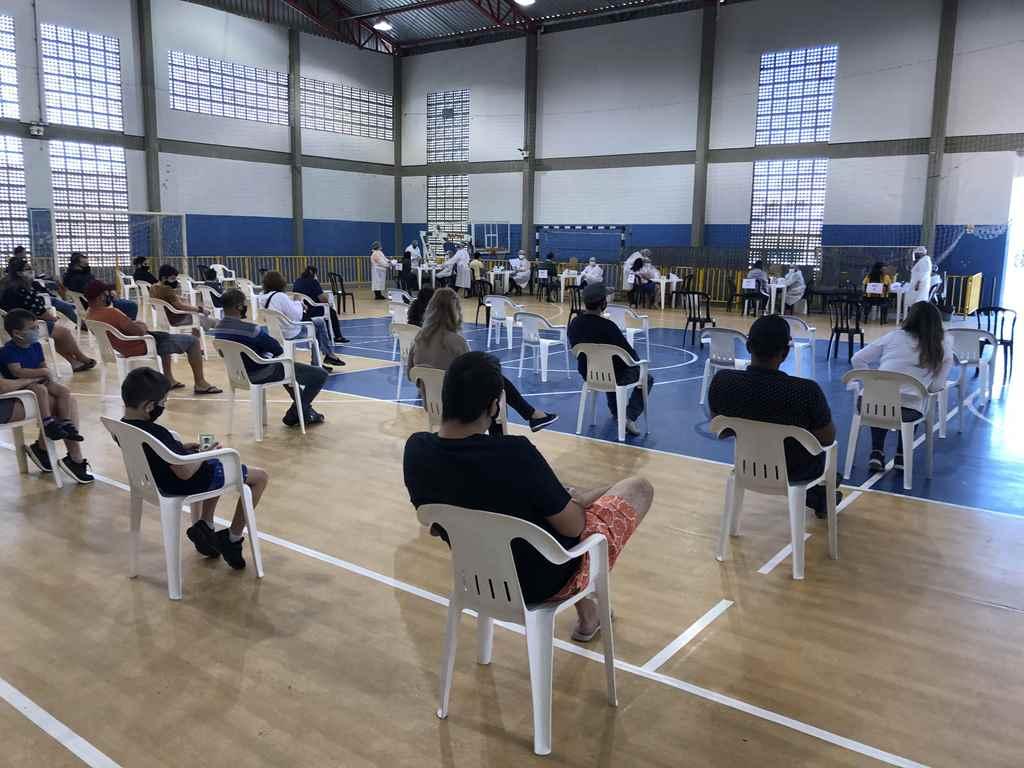Saúde realiza testagem itinerante no Bairro Morretes