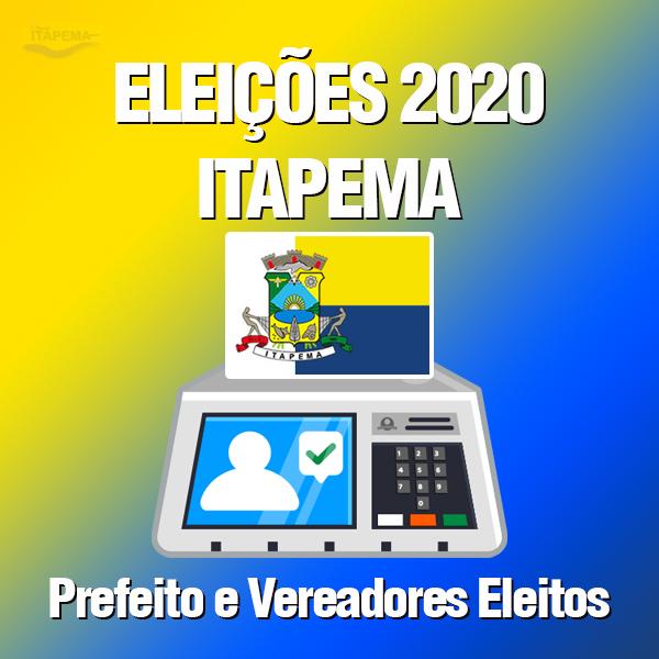 Eleições 2020 Itapema – Prefeita e Vereadores Eleitos